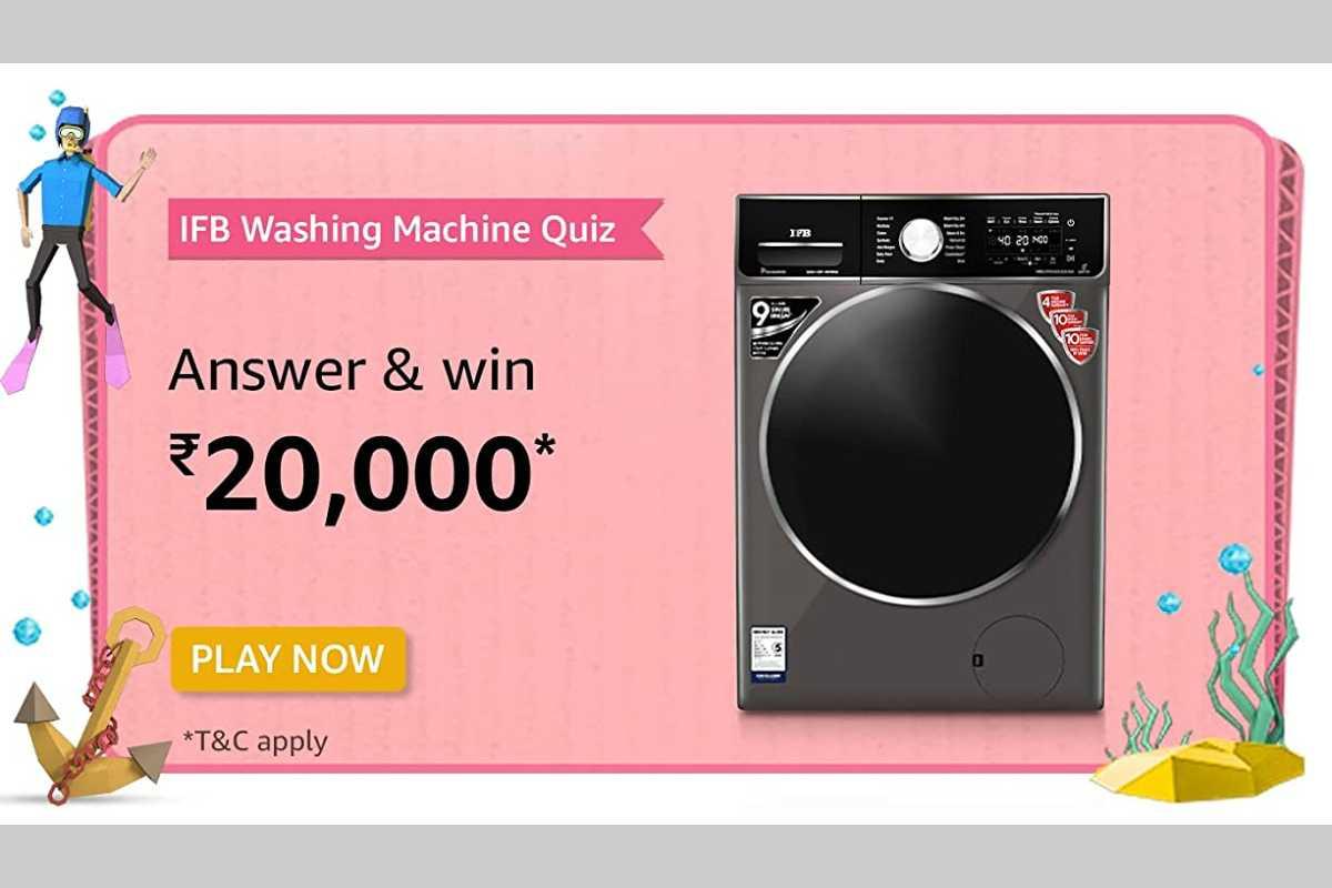 Amazon IFB Washing Machine Quiz