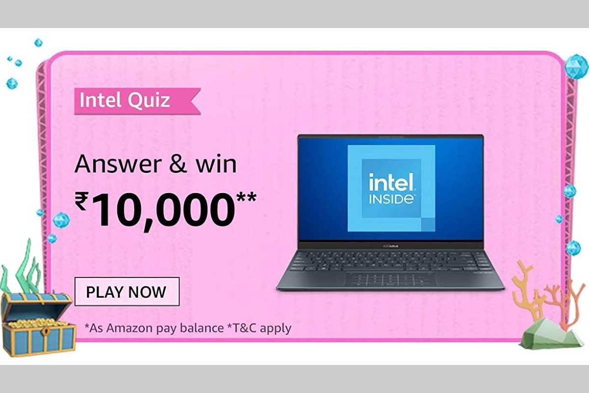 Amazon Intel Laptops Quiz