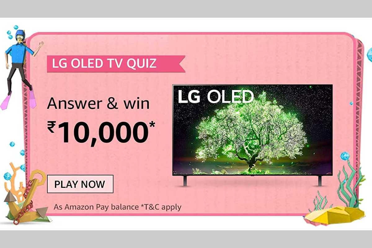 Amazon LG OLED TV Quiz