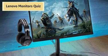 Amazon Lenovo Monitors Quiz