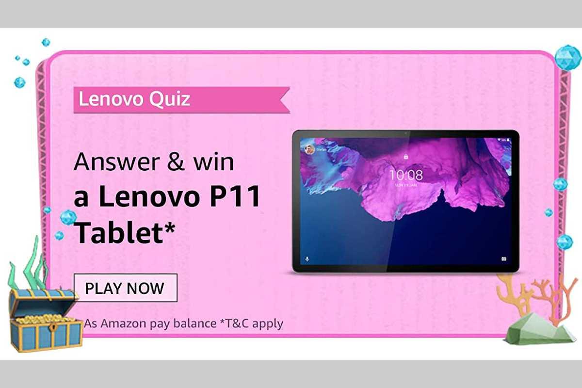 Amazon Lenovo Tablets Quiz