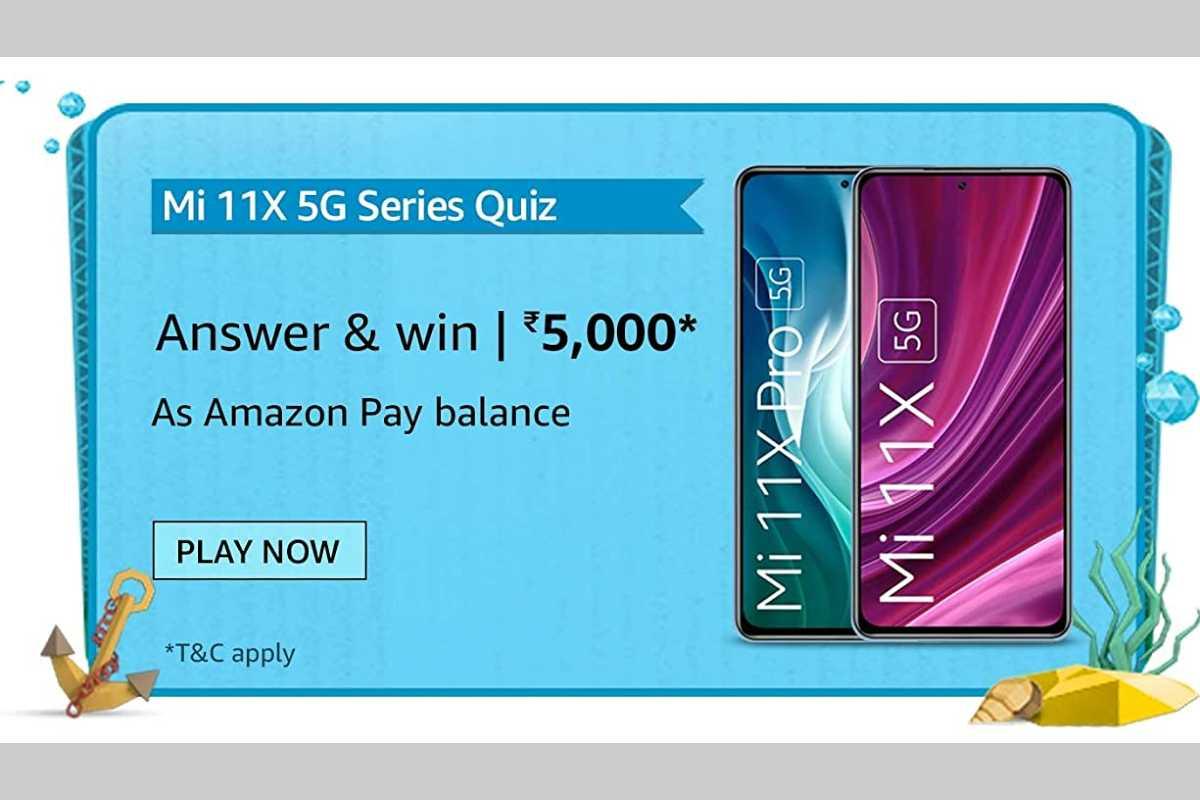 Amazon Mi 11X 5G Series Quiz