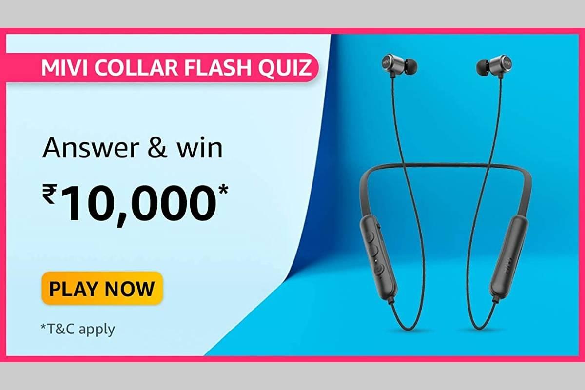Amazon Mivi Collar Flash Quiz