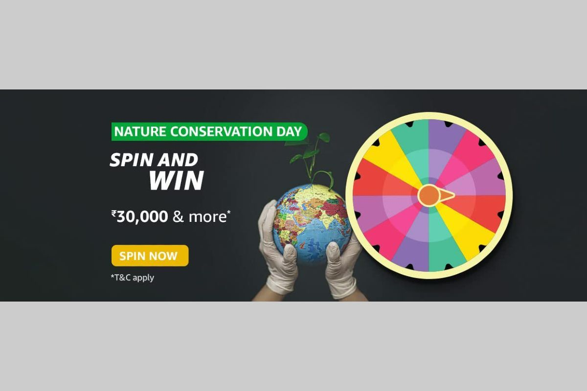 Amazon Nature Conservation Day Spin and Win Quiz