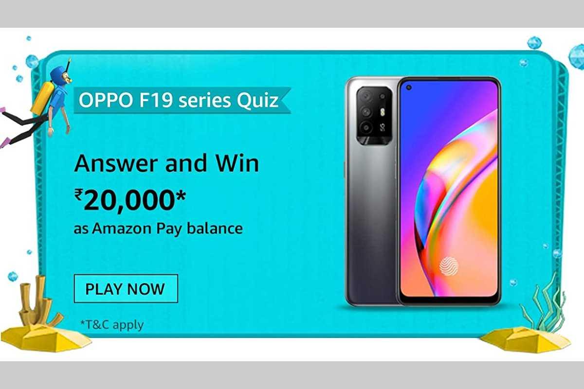 Amazon OPPO F19 Series Quiz