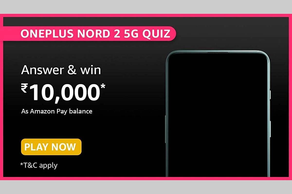 Amazon OnePlus Nord 2 5G Quiz