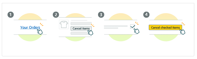Amazon India lets users cancel order conveniently