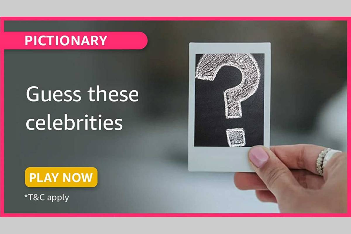Amazon Pictionary Guess These Celebrities Quiz