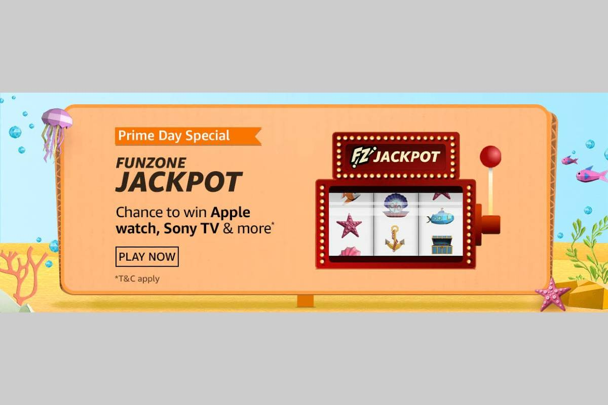 Amazon Prime Day Special Funzone Jackpot Quiz