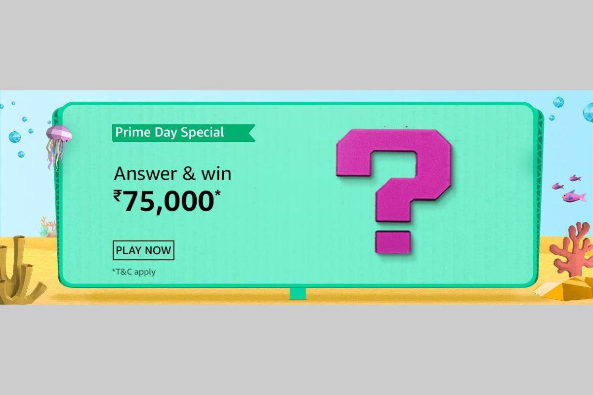 Amazon Prime Day Special Quiz