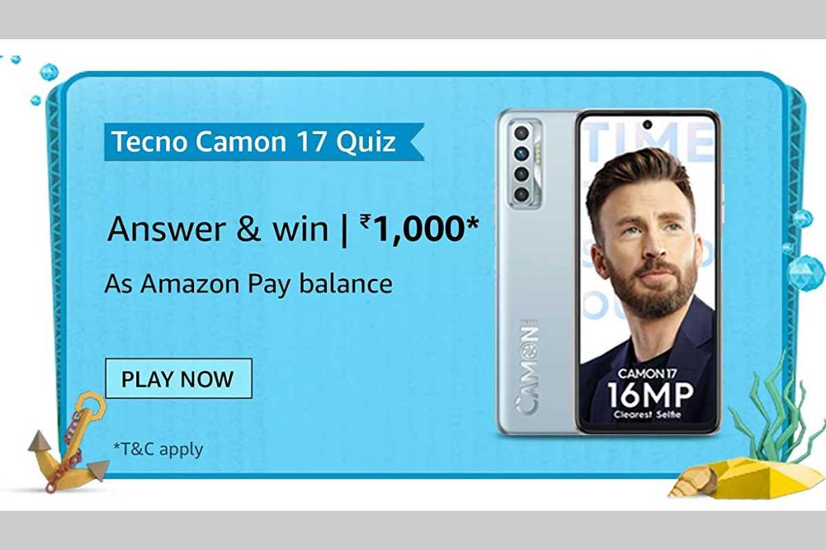 Amazon Tecno Camon 17 Quiz