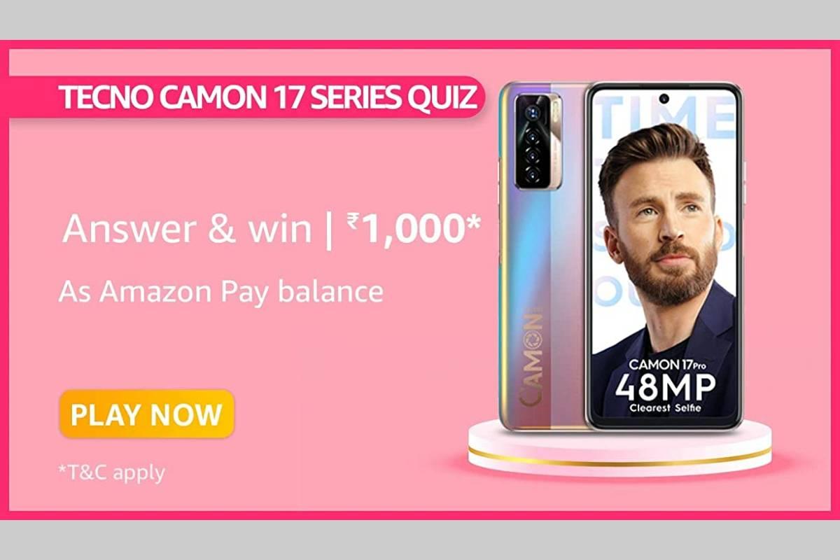 Amazon Tecno Camon 17 Series Quiz