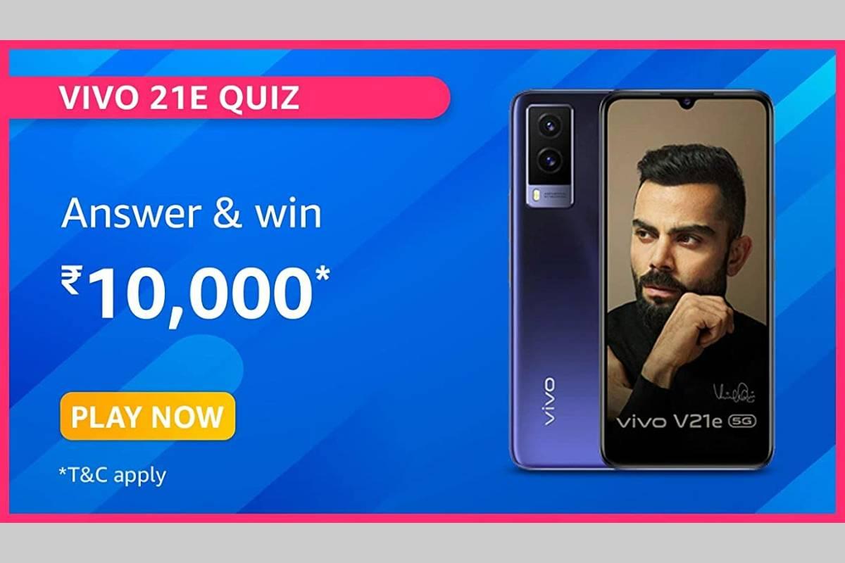 Amazon Vivo V21e Quiz