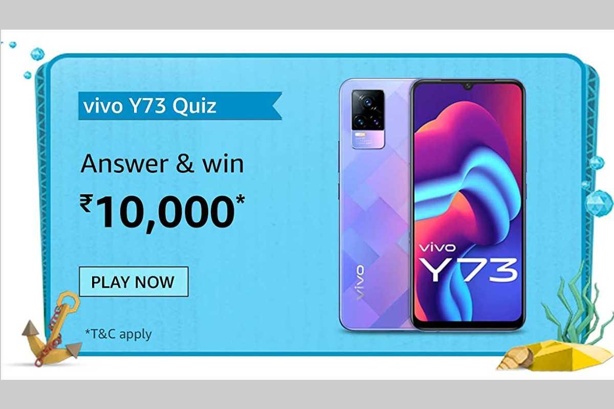 Amazon Vivo Y73 Quiz