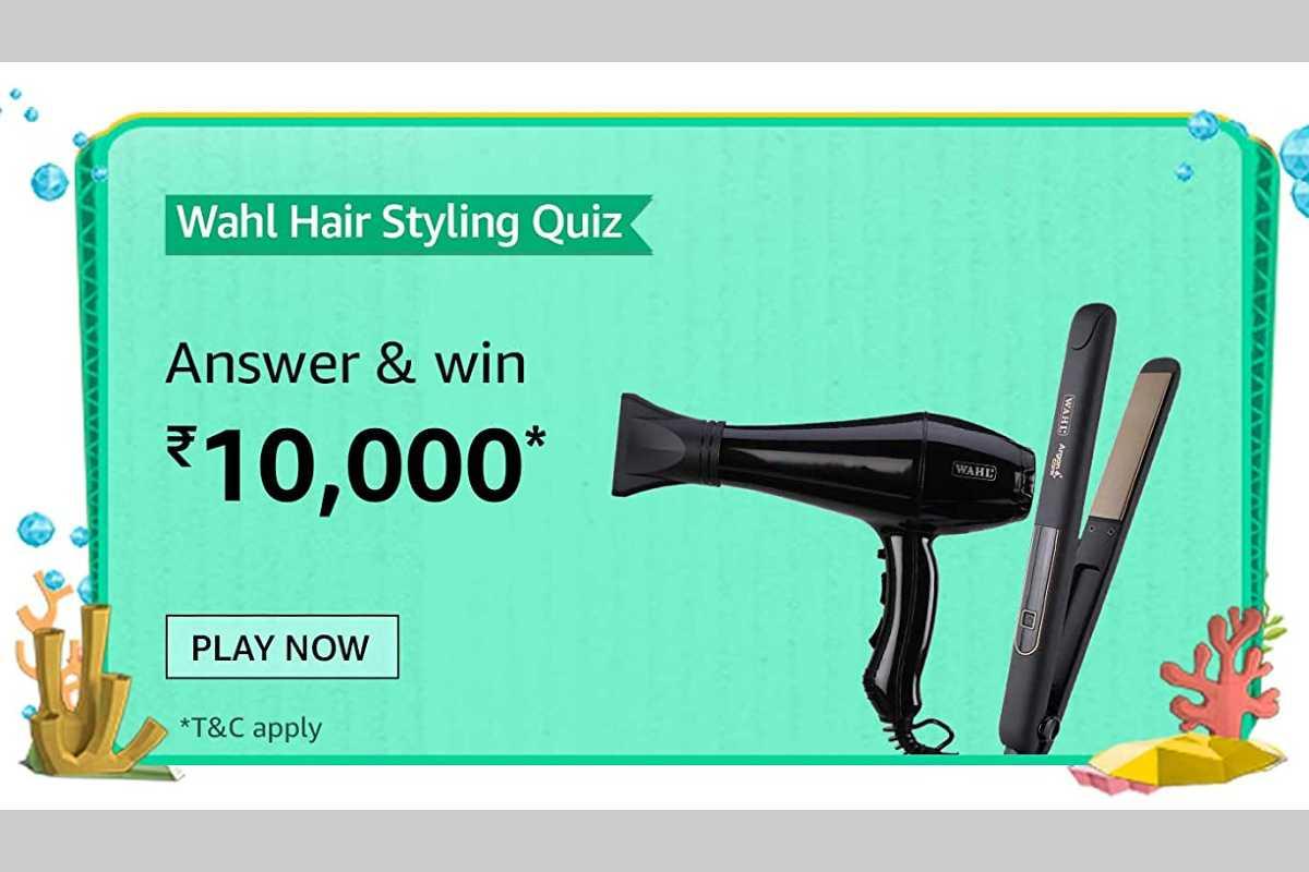 Amazon Wahl Hair Styling Quiz