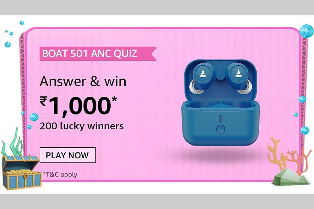 Amazon boat 501 ANC Quiz