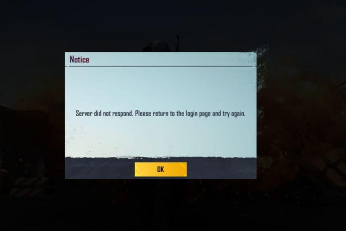 BGMI server issues