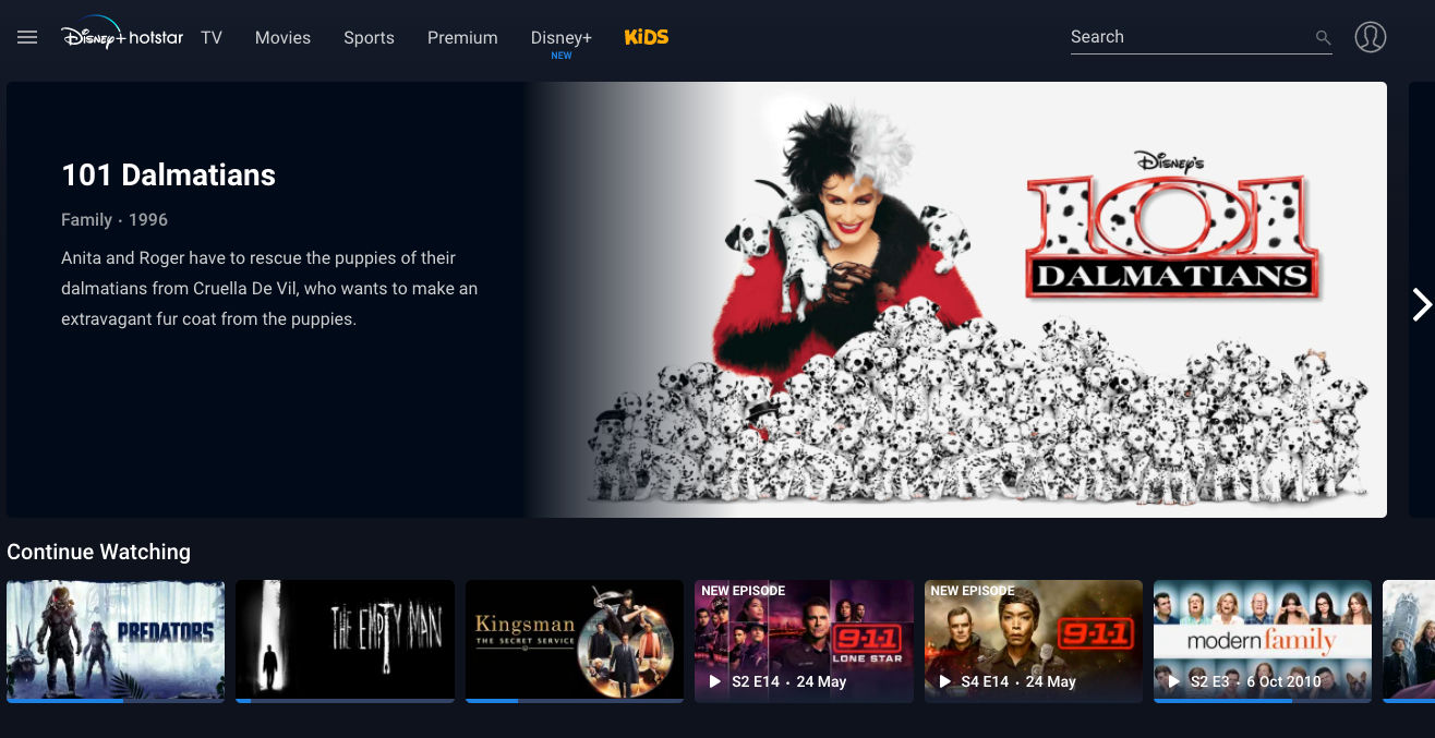 Disney+ Hotstar removes live news channels from its platform