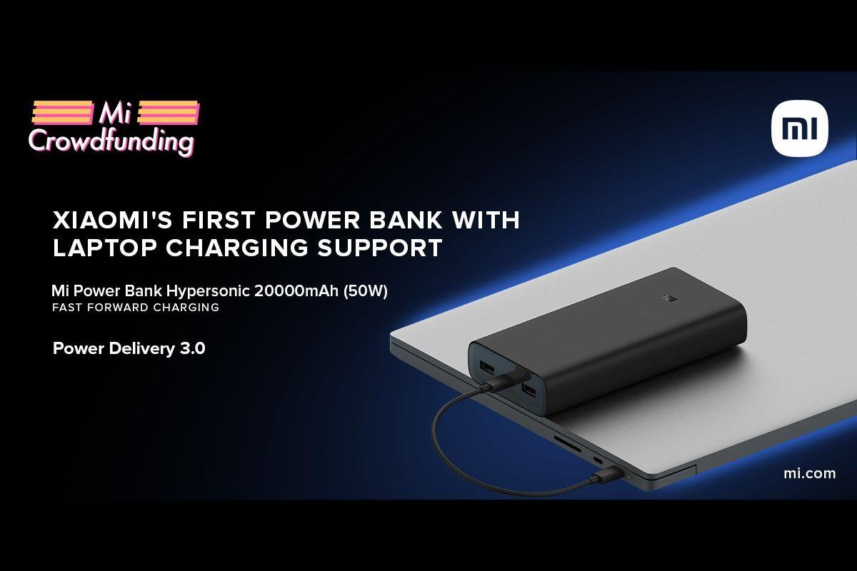 Mi Power Bank Hypersonic Crowdfunding
