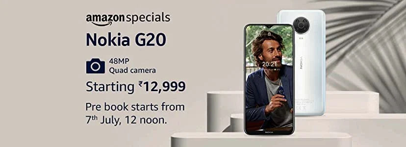 Nokia G20 price in India will start from Rs 12,999