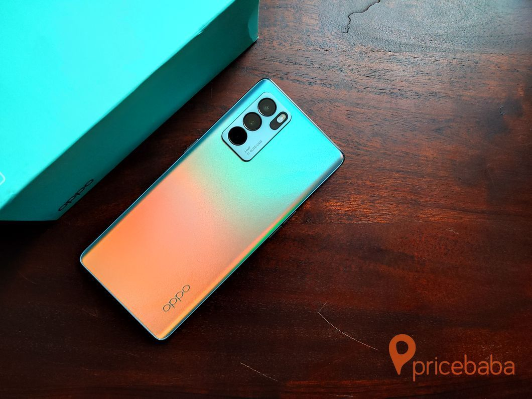 The OPPO Reno 6 Pro comes with Dimensity 1200 SoC