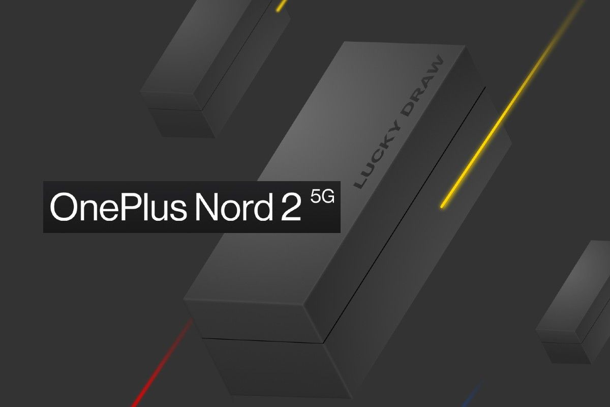 OnePlus Nord 2 lucky draw contest