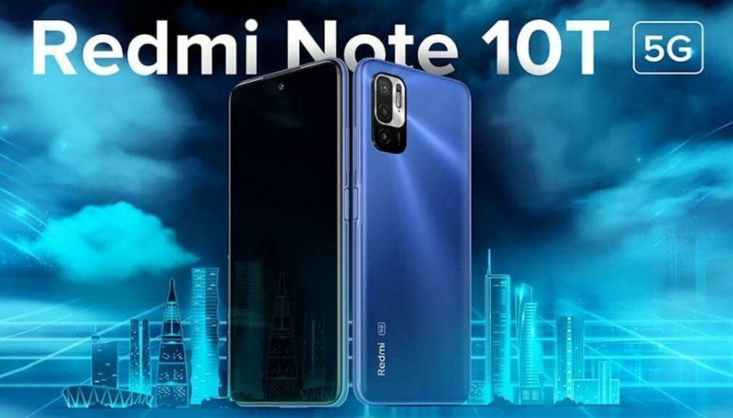 Redmi Note 10T 5g poster-