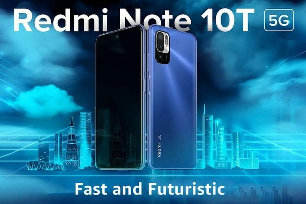 Redmi Note 10T 5g poster