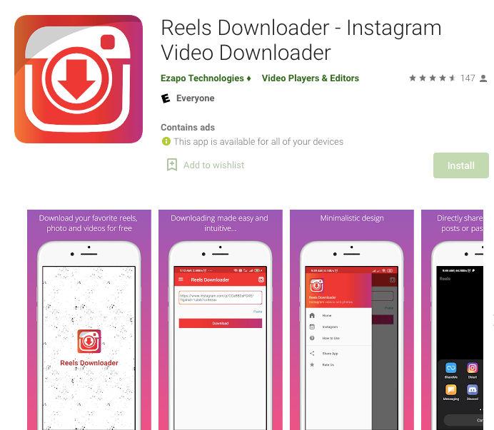 Reels Downloader lets users download Instagram Reels easily