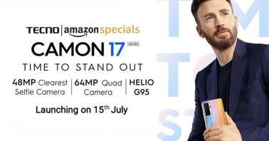 Tecno Camon 17 series launch date--