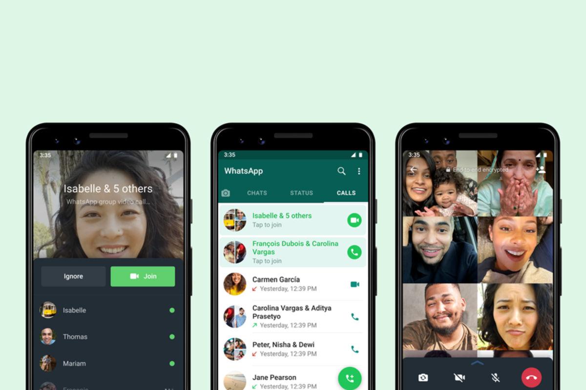 WhatsApp joinable calls