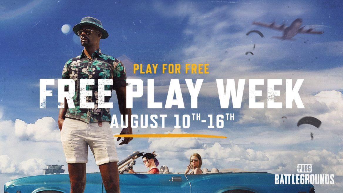 PUBG Free Play Week