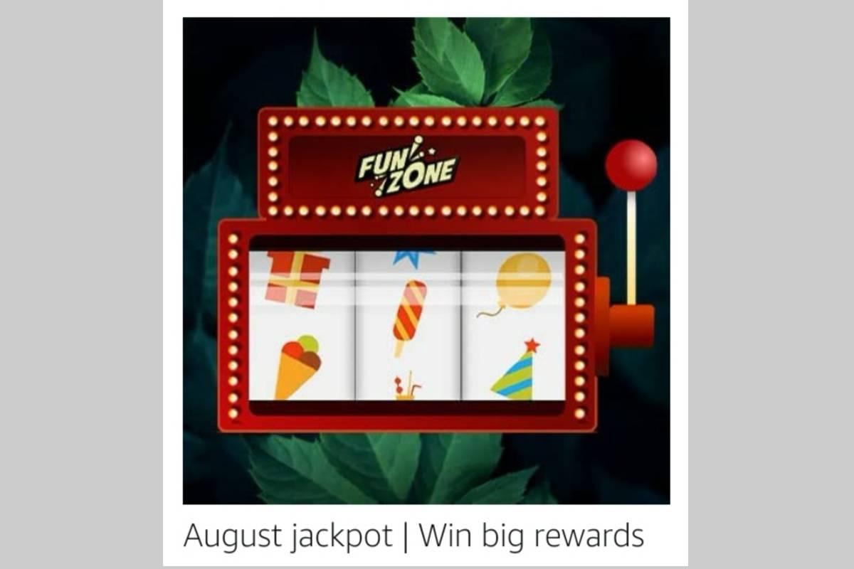 Amazon August Edition Jackpot Quiz
