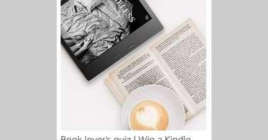 Amazon Book Lover's (Reader) Quiz