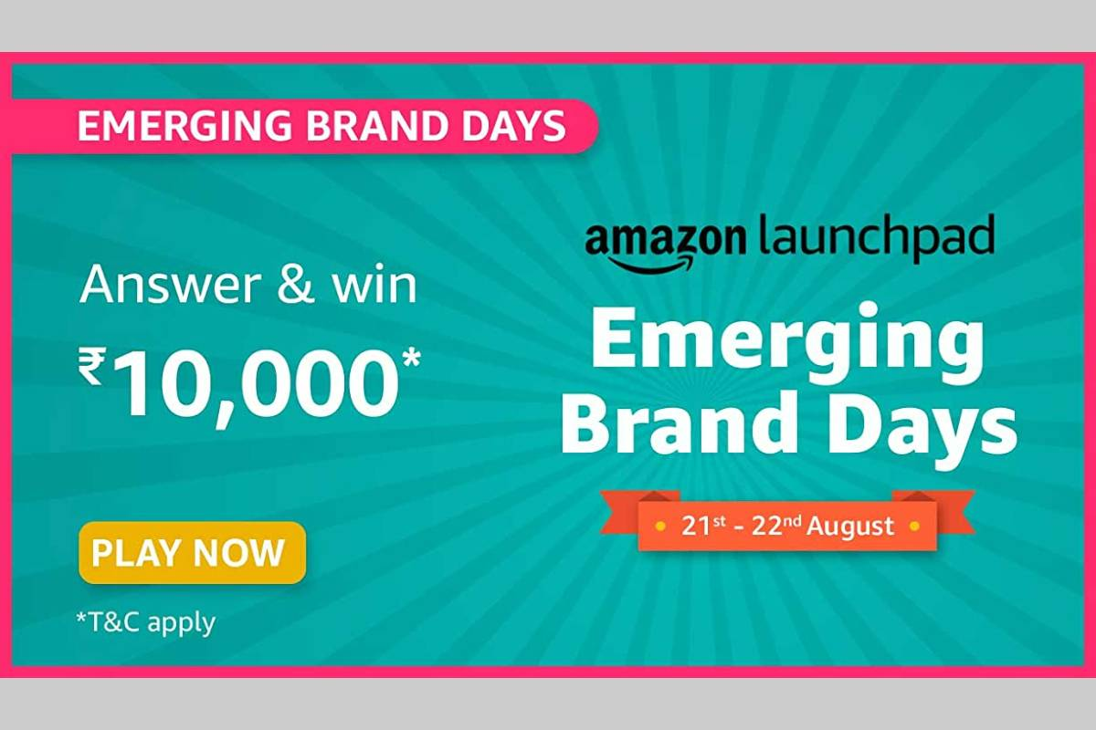 Amazon Emerging Brand Days Quiz
