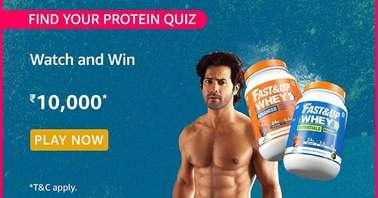 Amazon Find your Protein Quiz