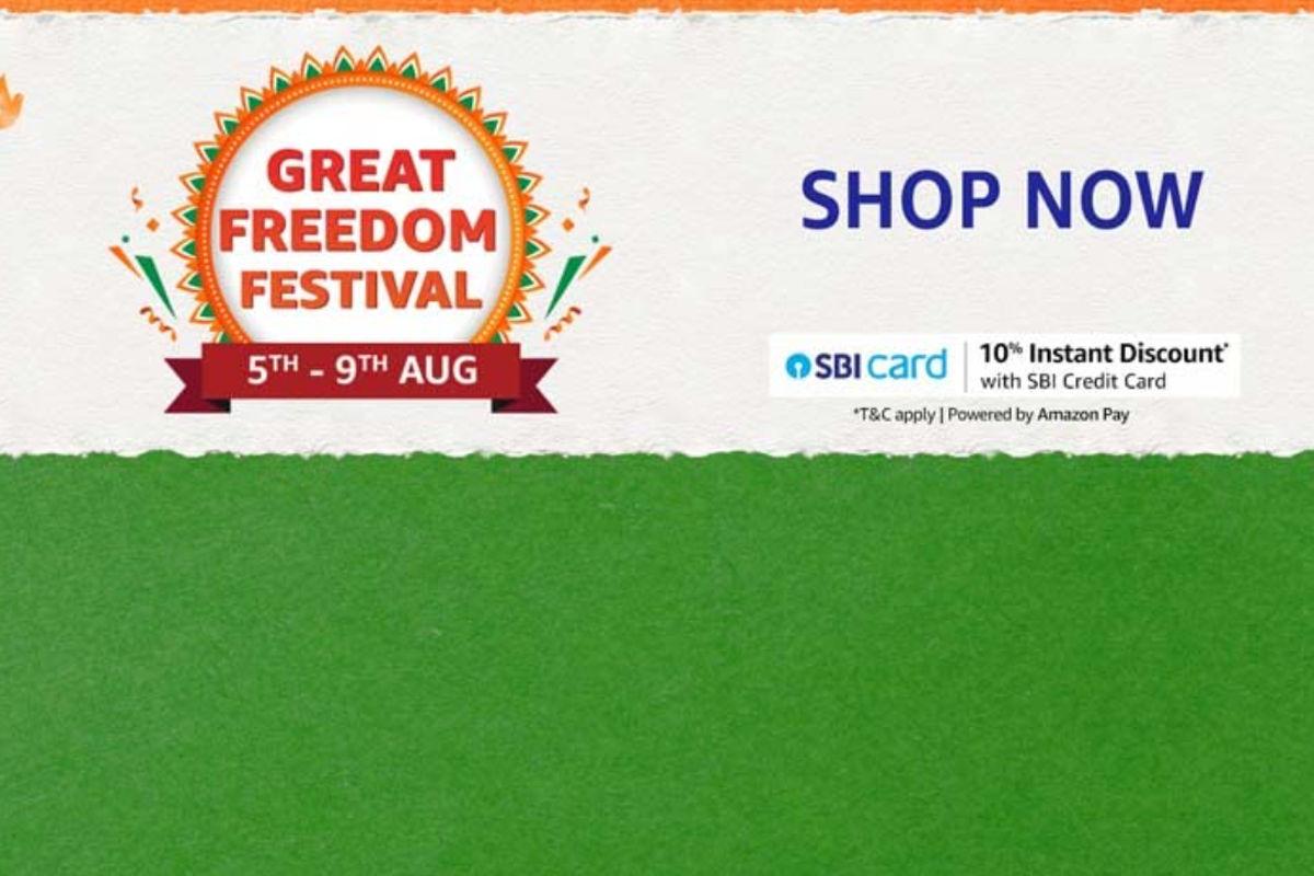 Amazon Great Freedom Festiival Sale