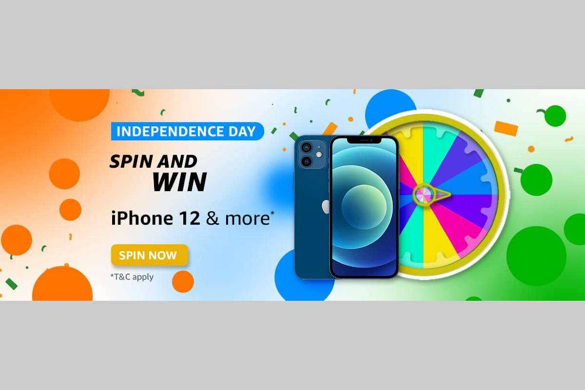 Amazon Independence Day Spin and Win Quiz
