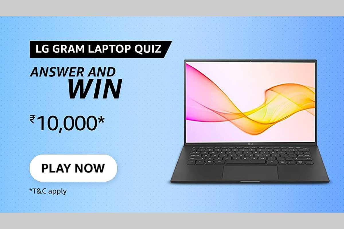 Amazon LG Gram Laptop Quiz