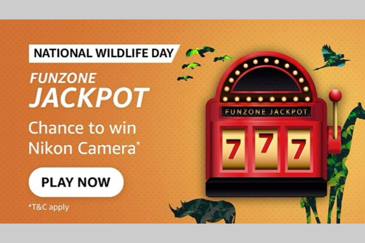 Amazon National Wildlife Day Jackpot Quiz