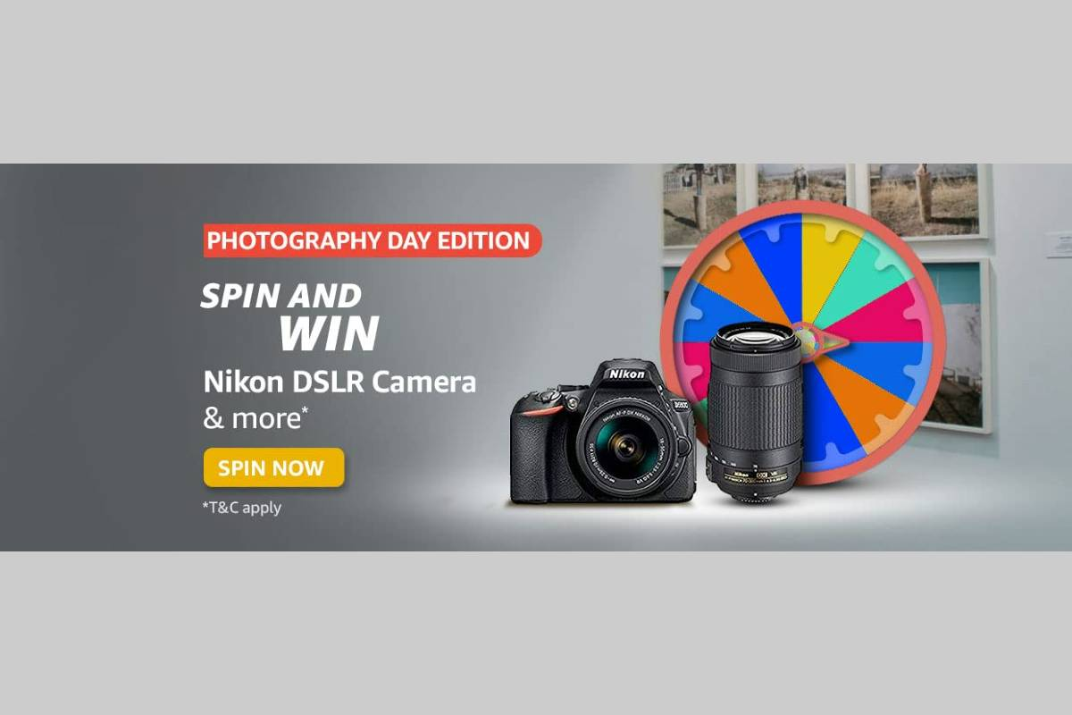 Amazon Photography Day Edition Spin and Win Quiz