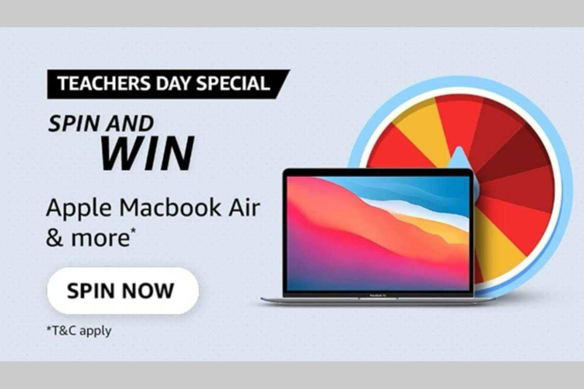 Amazon Teachers Day Special Spin and Win Quiz