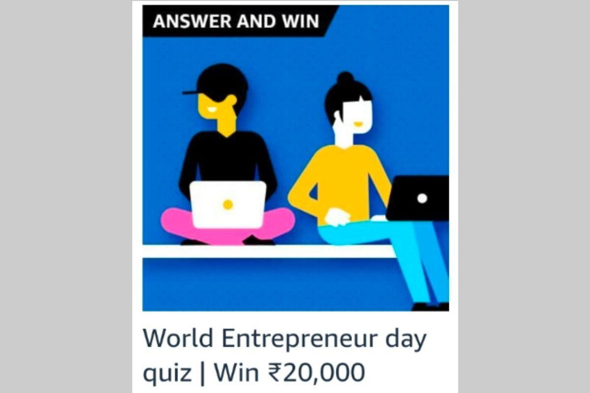 Amazon World Entrepreneurs Day Quiz