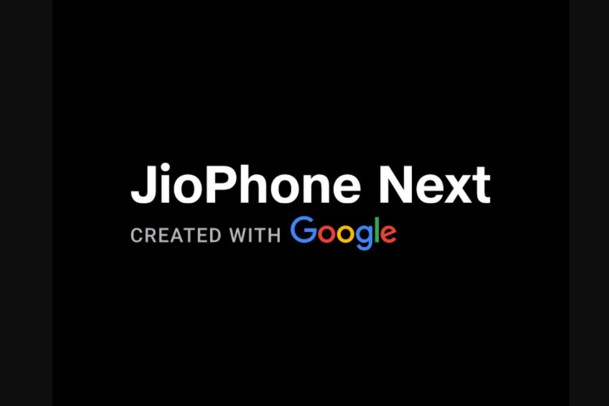 JioPhone Next boot screen