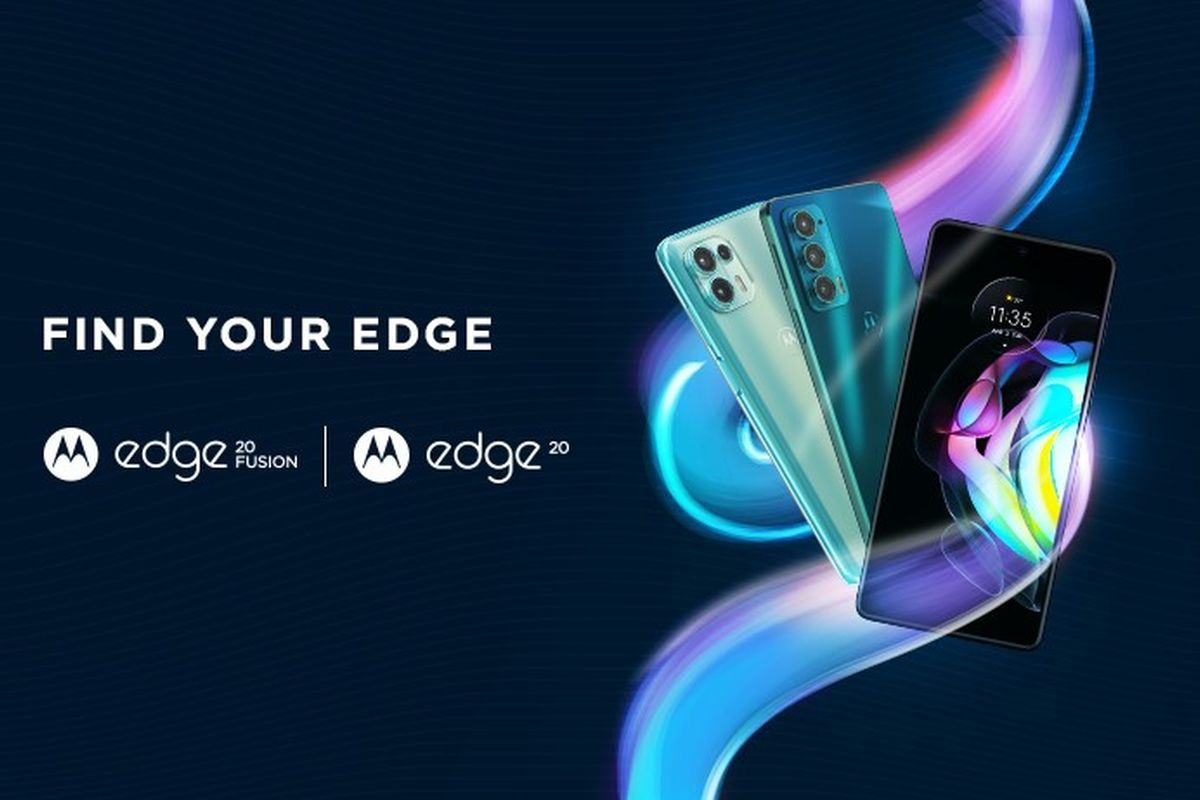 Motorola Edge 20 and Edge 20 Fusion poster-