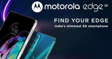 Motorola Edge 20 landing page-