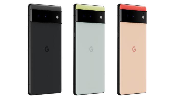 Google Pixel 6 official renders