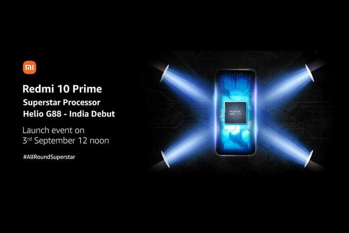 Redmi 10 Prime has Helio G88