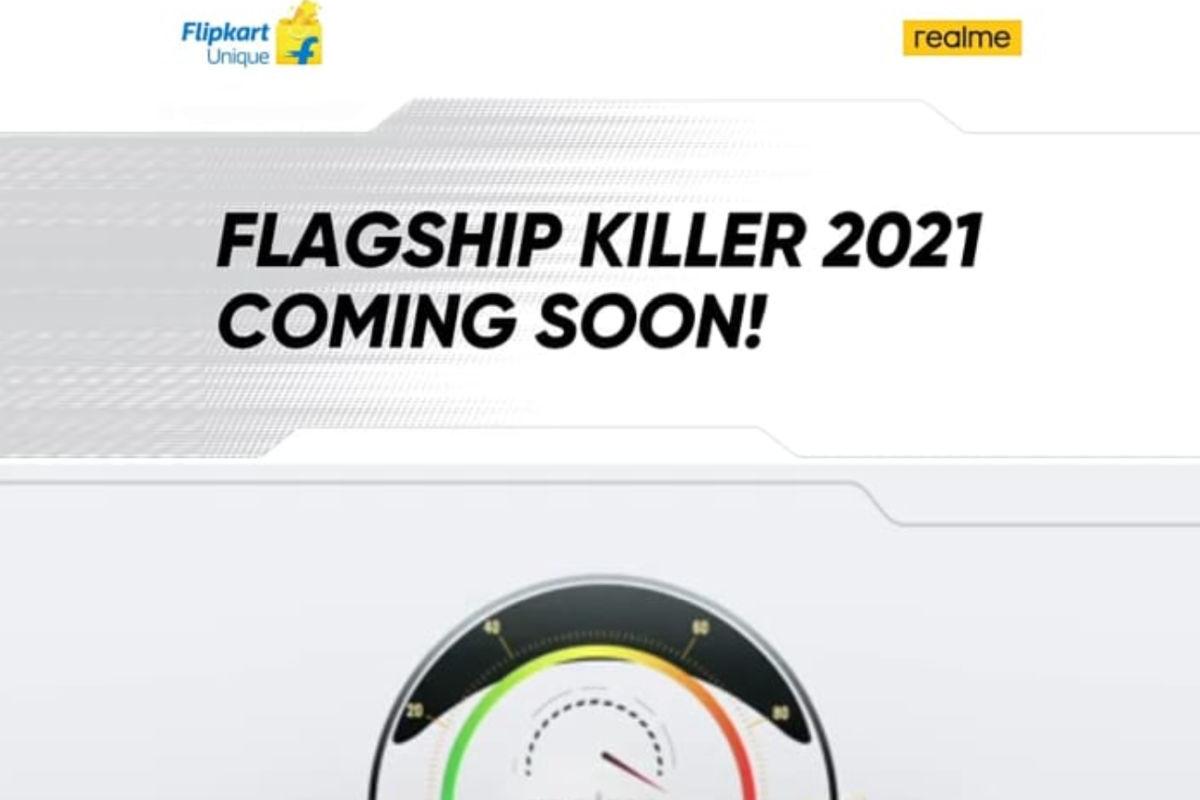 Realme GT 5G Flipkart teaser