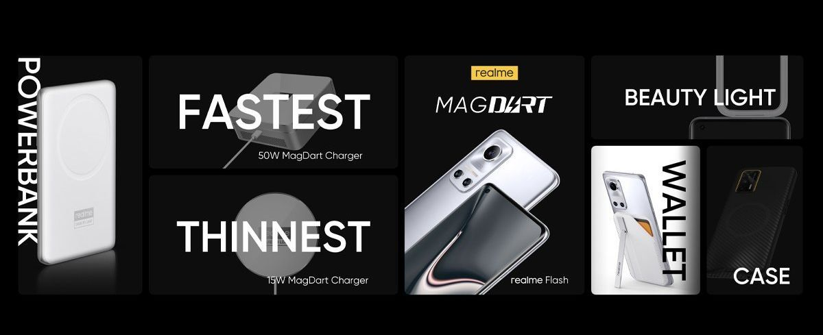 Realme MagDart products and Realme Flash